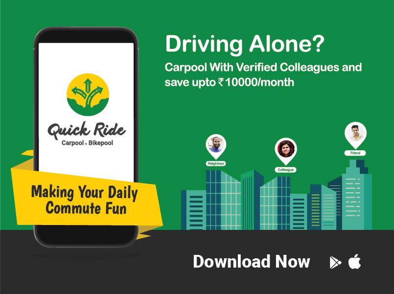 Quick Ride, India's biggest carpool platform