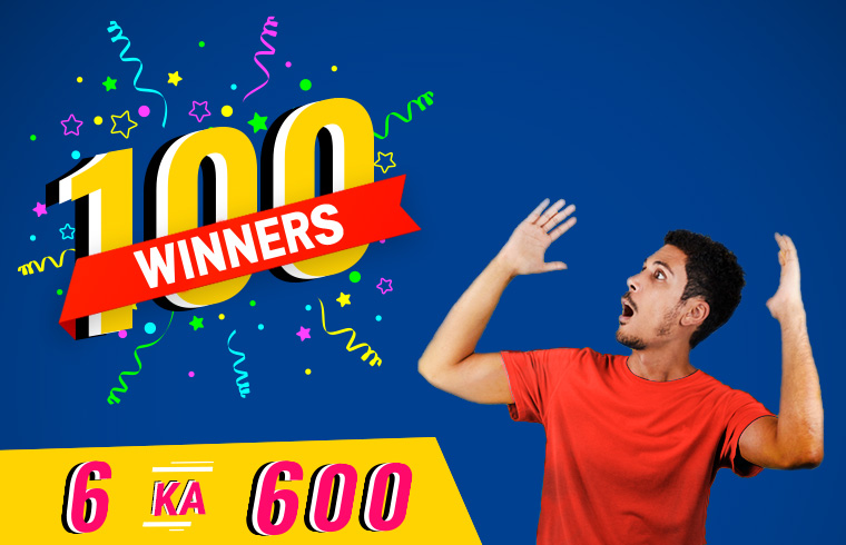 6 ka 600 Offer winners 2019 - Best Carpool and Bikepool app In India
