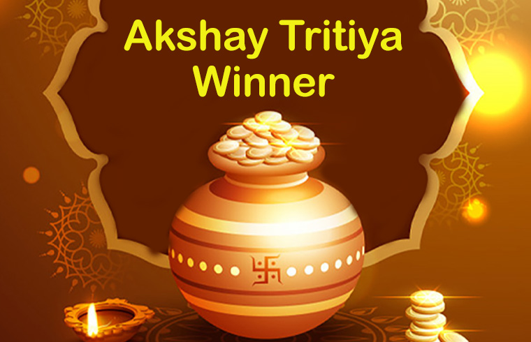 Quick Ride, Akshaya Tritiya Gold Coin winner, 2019