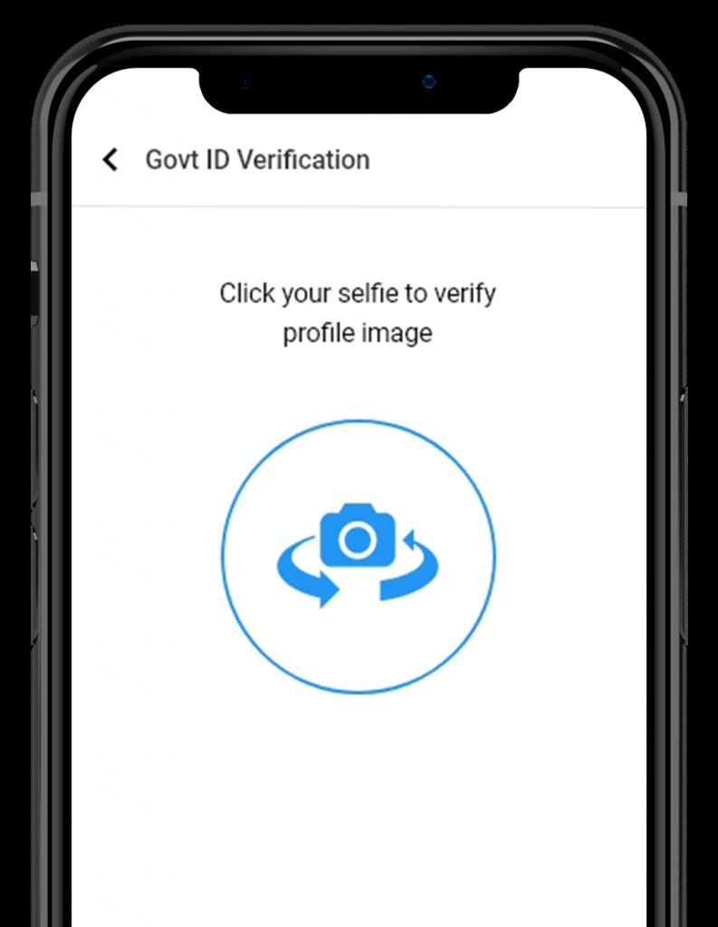 Selfie Verification helps in user identification