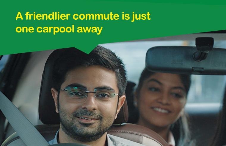 Advantage of carpooling