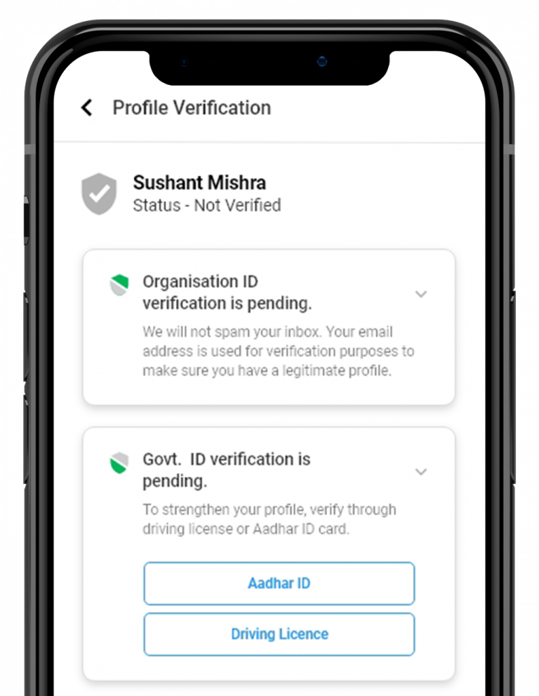 adhar verification