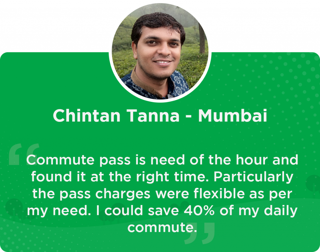 Chintan Quick Ride Mumbai User