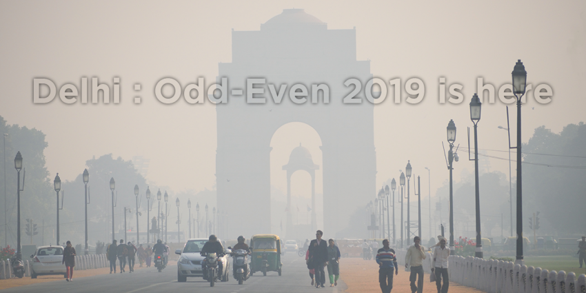 Delhi : Odd-Even 2019 is here. What are your plans after that?