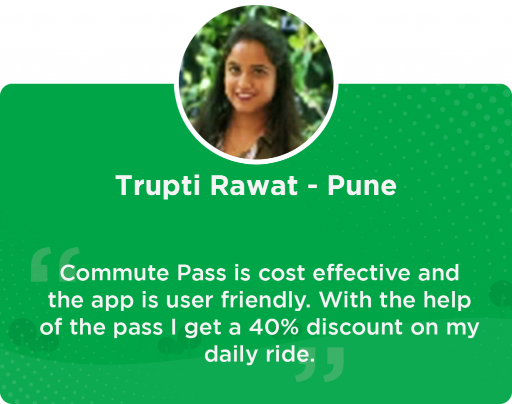 Trupti Quick Ride user