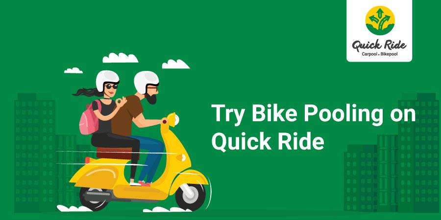 Quick Ride Bike pooling