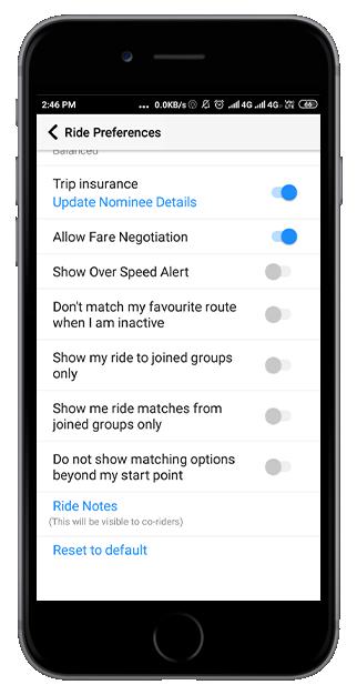Quick Ride Trip Insurance