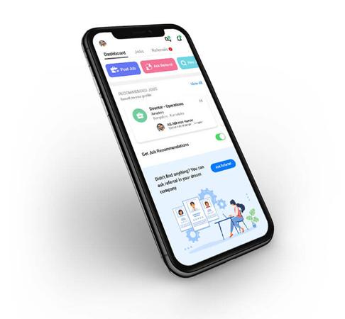 Quick Jobs mobile screen
