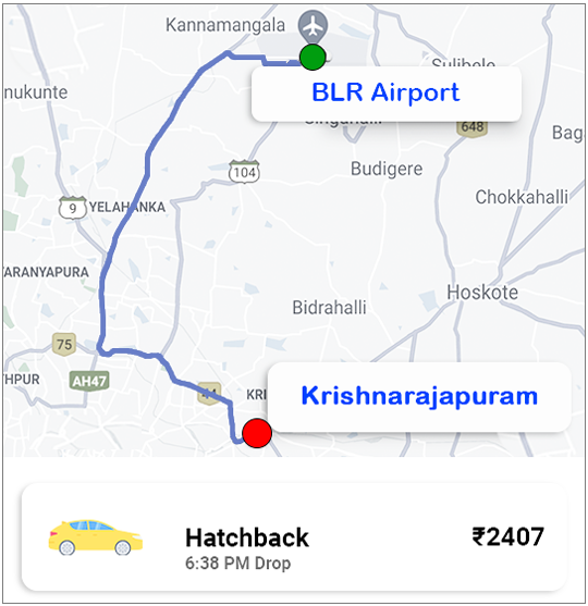 Taxi-from-airport-to-kr-puram